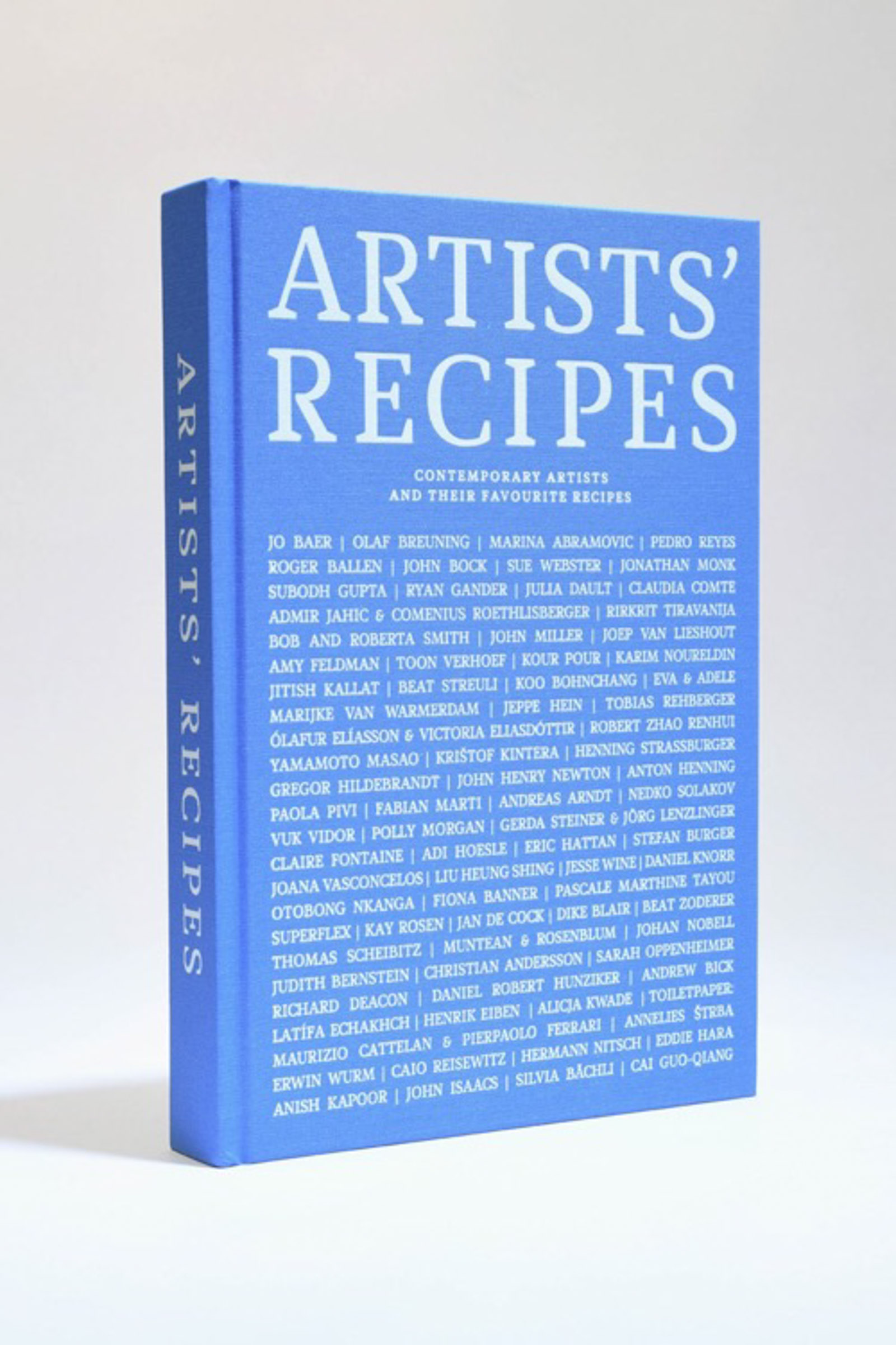 Book no. 5: Artists' Recipes