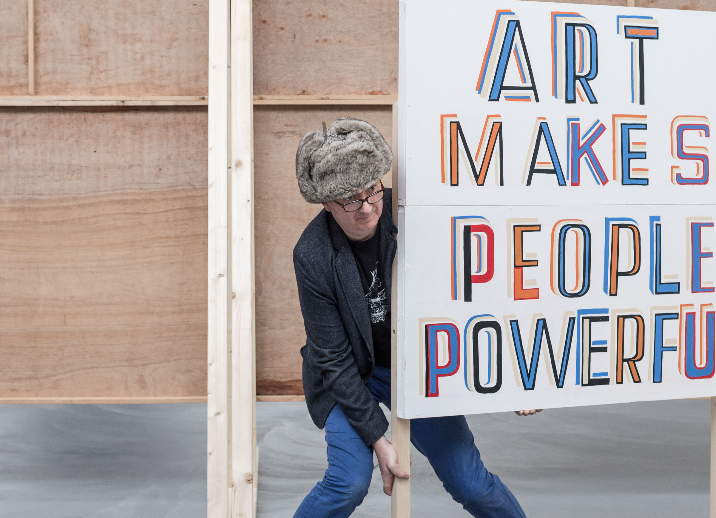 Stefan von Bartha spoke to the artist Bob & Roberta Smith, discussing art and music, the challenges of Instagram, and his new book – followed by a live performance of a song written in lockdown