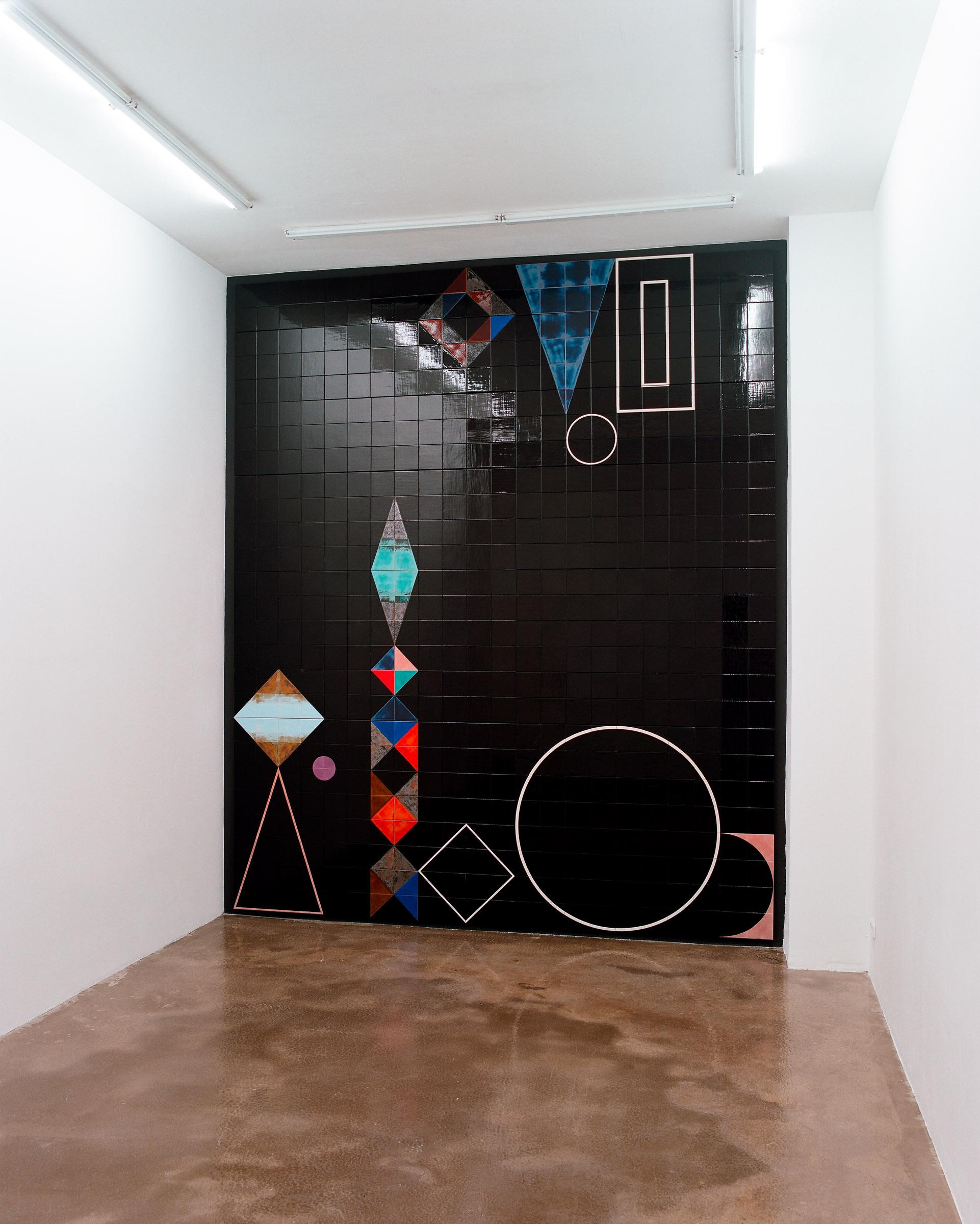 Teppich des Lebens, Galerie Ben Kaufmann 2008 photo_ Kathrin Rother