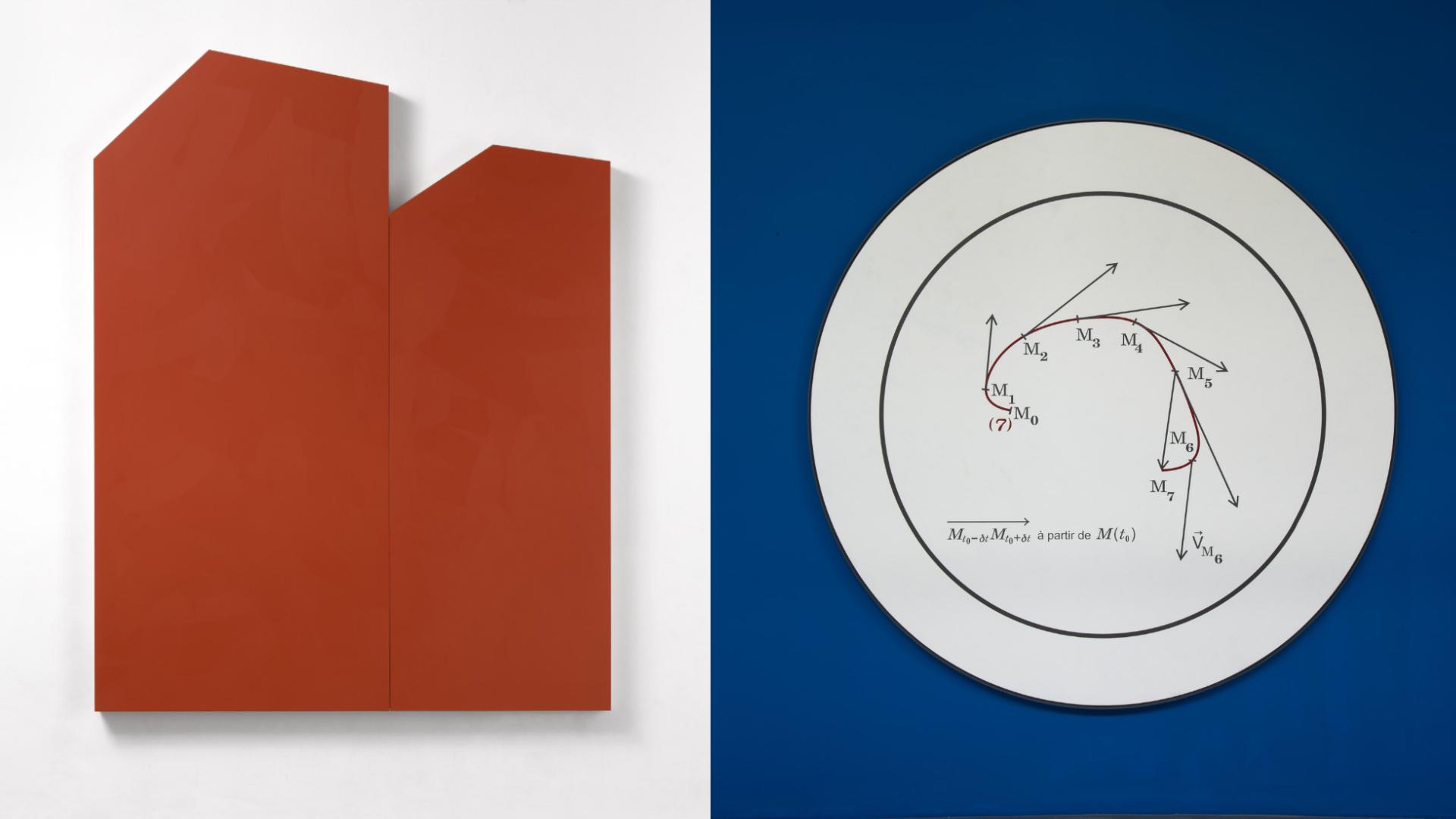 Online Viewing Room: Imi Knoebel / Bernar Venet, Basel